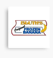bluth's original frozen bananas Canvas Print