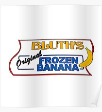 bluth's original frozen bananas Poster