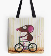 The Green Bike Tote Bag