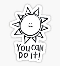 motivational sun Sticker