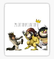 Where The Wild Things Are Sticker