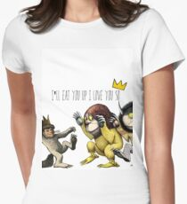 Where The Wild Things Are Women's Fitted T-Shirt