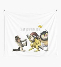 Where The Wild Things Are Wall Tapestry