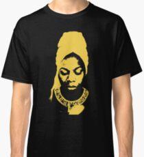 Nina Simone Gelb Classic T-Shirt