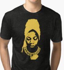 Nina Simone Gelb Vintage T-Shirt