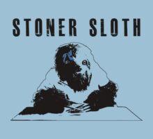 Stoner Sloth monochrome by Dylan DeLosAngeles