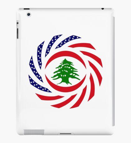 Lebanese American Multinational Patriot Flag Series iPad Case/Skin