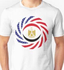 Egyptian American Multinational Patriot Flag Series T-Shirt