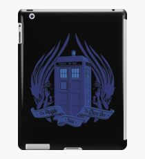 Doctor Who - Angels have the Phone Box iPad Case/Skin