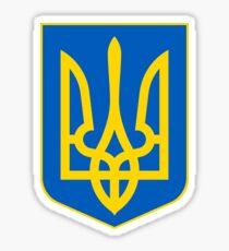 Coat of Arms of Ukraine  Sticker