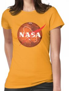 NASA Mars Logo Womens Fitted T-Shirt