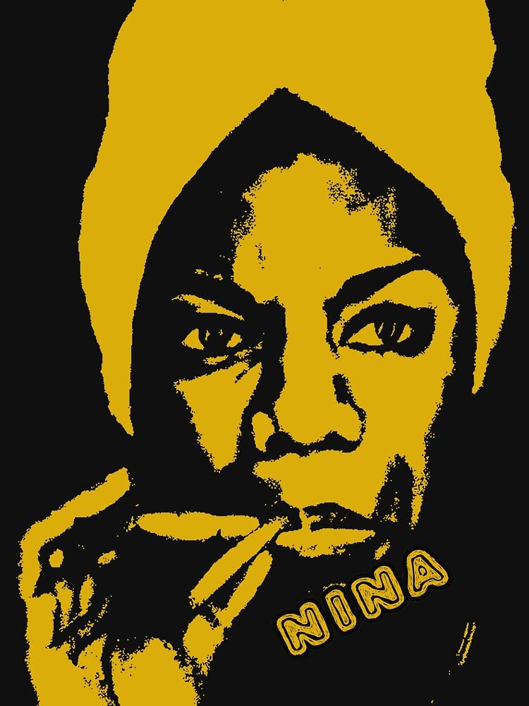 Nina Simone Yellow Sigar by givemefive