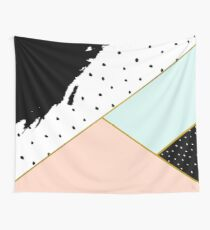 Abstract Geometric Composition Wall Tapestry