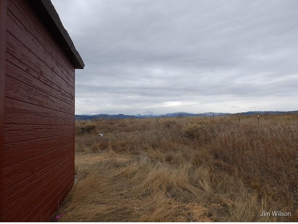 Cloudy Prairie by Jim Wilson