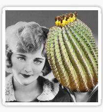 Cactus Mess Around Sticker