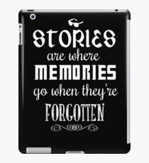 Stories and Memories iPad Case/Skin