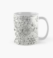 Shamanic Girl With Blossoms, Mandala And Birds Mug