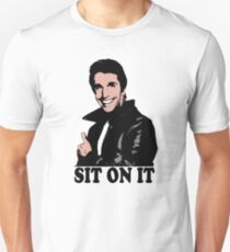 The Fonz Happy Days Sit On It T-Shirt T-Shirt