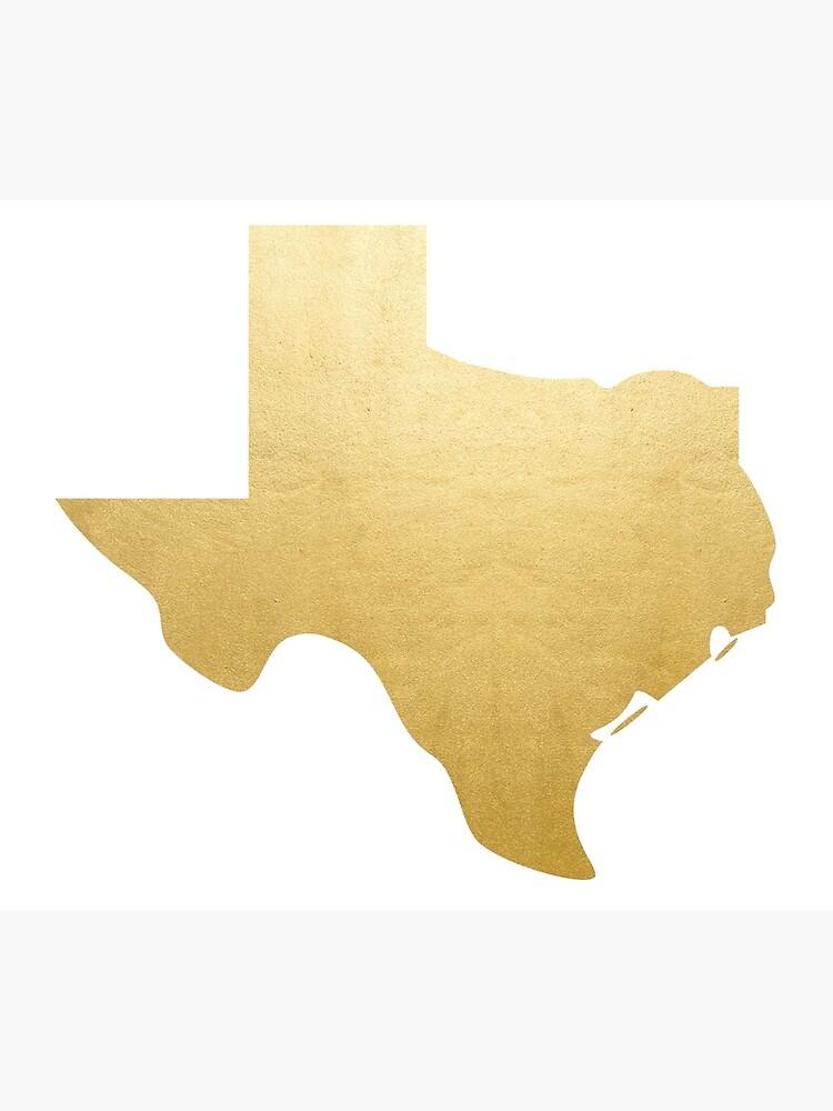 Gold Texas von alexclementine