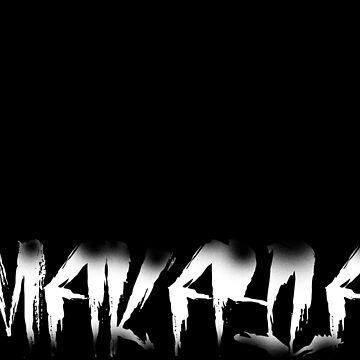Makayla Decayed Style Graffiti Tag by Jawnism
