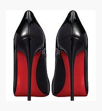 Red Sole Heels - Designer/Fashion/Trendy/Hipster Meme Photographic Print