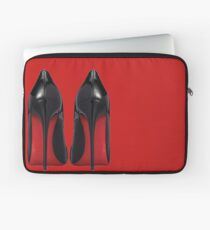 Red Sole Heels - Designer/Fashion/Trendy/Hipster Meme Laptop Sleeve