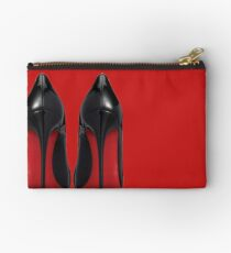 Red Sole Heels - Designer/Fashion/Trendy/Hipster Meme Studio Pouch