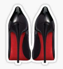 Red Sole Heels - Designer/Fashion/Trendy/Hipster Meme Sticker