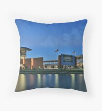 McLane Stadium at Baylor University Throw Pillow