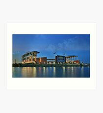 McLane Stadium at Baylor University Art Print
