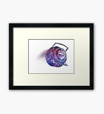 SPACE! Framed Print