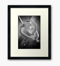 Antonio Canova - Psyche Revived by Cupid's Kiss Framed Print