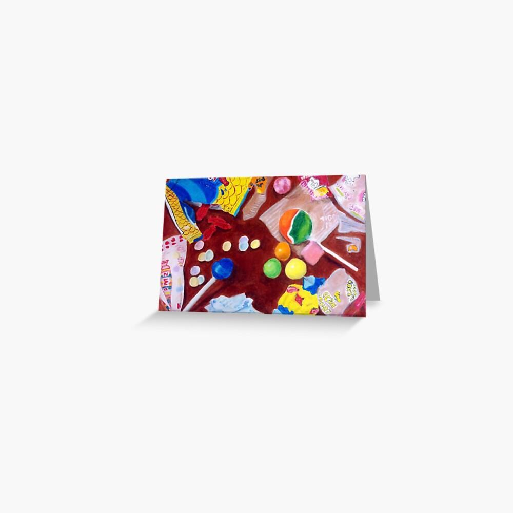 I Want Candy Tarjetas de felicitación