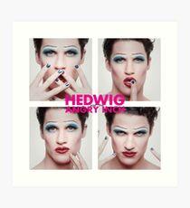 Darren Criss as Hedwig Art Print
