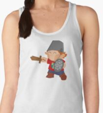 little knight, playing to grow Women's Tank Top