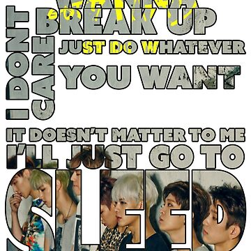 Got7 Mad - I'll just go to sleep by mykl55