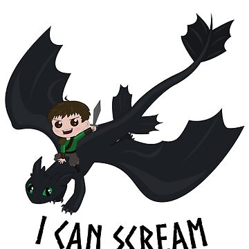 I can scream like a dragon by Lindis