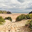 Three Cliffs Bay by Stephen Liptrot