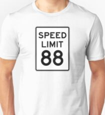 Speed Limit 88 Unisex T-Shirt