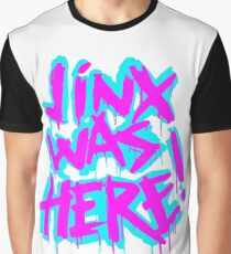 JINX WAS HERE Graphic T-Shirt