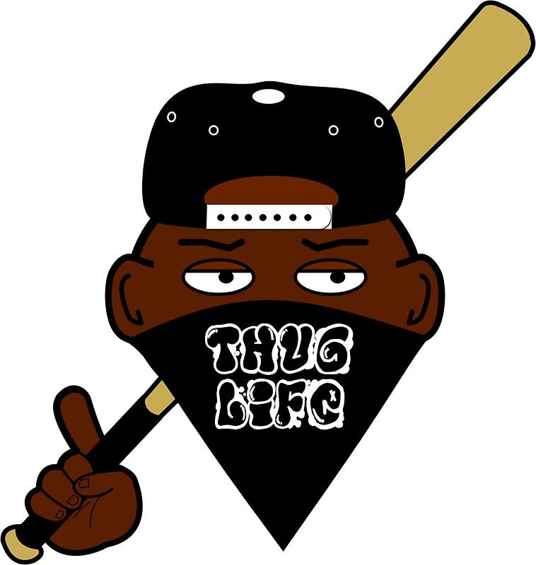 Thug life gangsta 2d by jaredarts