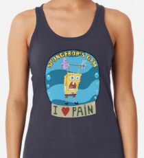 Spongebobs Fitnessstudio Tanktop für Frauen