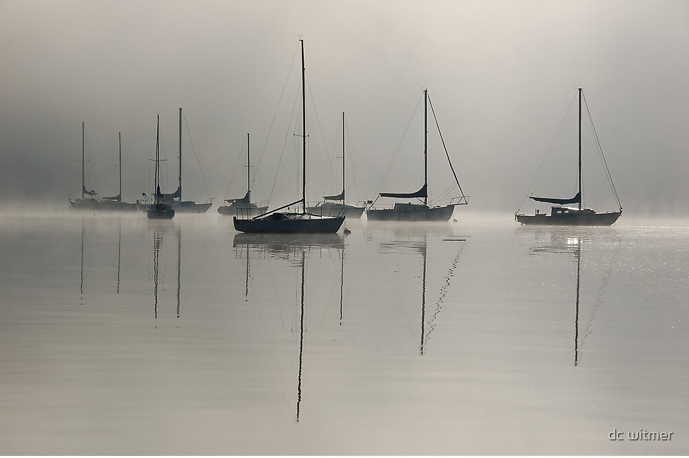 sailboats by dc witmer