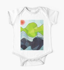 The Poly Landscape One Piece - Short Sleeve