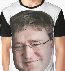 Gaben - Gabe Newell Meme Graphic T-Shirt