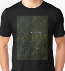 Civil War Maps 0516 Information map Southeastern Tennessee Inverted Unisex T-Shirt