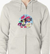It's Cold Outside Zipped Hoodie