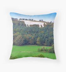The White Horse - Kilburn  Throw Pillow
