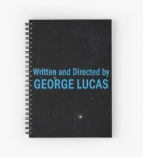 Written and Directed by George Lucas Spiral Notebook