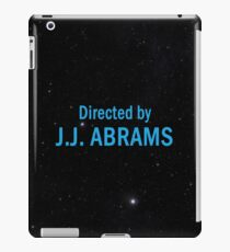 Directed by J. J. Abrams iPad Case/Skin
